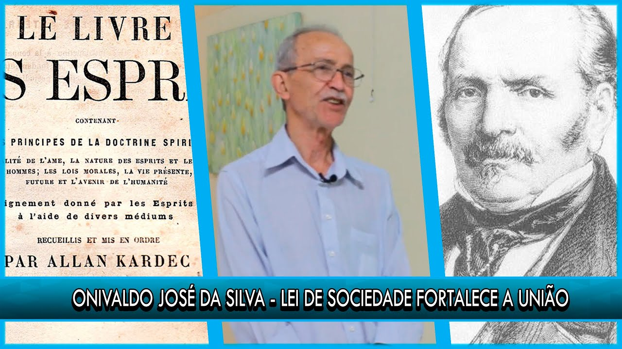 Lei de sociedade fortalece a união - Onivaldo José da Silva - P10T1