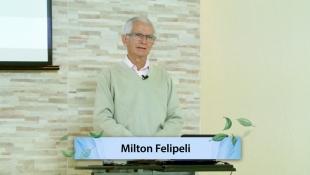 Palestra 295 - Uma Nova Maneira de Pensar - Milton Felipeli